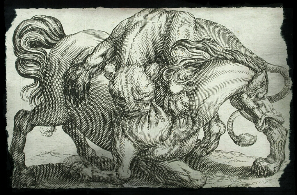 Pasaka apie arklį ir žvėris