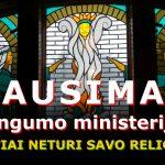 Klausimas Teisingumo ministerijai - lietuviai neturi savos religijos? (6 laiškas)